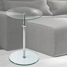 design nacht tisch schlafzimmer beistell klar glas platte
