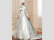 Long Sleeve Appliques Matte Satin Ball Gown Arabic Wedding