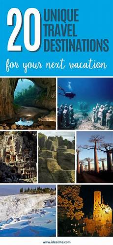 20 unique travel destinations for your next vacay ideal me