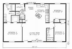 3 bedroom rectangular house plans 4 corner rectangle house plan 3 bedrooms rectangle