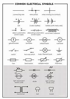 electrical symbols common electrical symbols evan s space