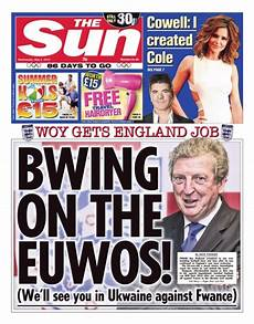 youthumbs controversial news topics and news headlines opinion polls you thumbs 187 top jonathan ross defends the sun s front cover mocking roy hodgson the drum