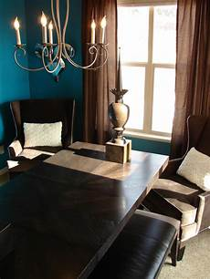 Peacock Blue Dining Room