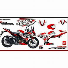Striping Fiz R Variasi by Decal Sticker Striping Fullbody Variasi All New Cbr
