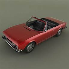 Peugeot Cabrio Modelle - peugeot 504 convertible 3d model max obj 3ds cgtrader