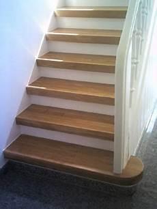 treppe neu belegen treppenrenovierung durch neu aufgebrachtes massivholz
