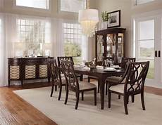 intrigue formal dining room collection with back chairs dining room furniture dining