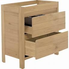 meuble sous vasque meuble sous vasque 2 tiroirs 80cm 80 cm