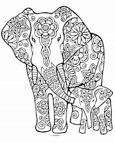 Ausmalbilder Elefant Erwachsene Pin Frau Ef Auf Dan Mandala Malvorlagen Mandala