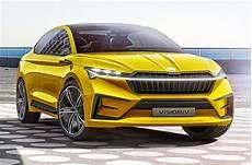 Skoda Vision Iv Concept Revealed Autocar India