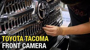 2019 Toyota Tacoma Front Camera  Cars Review