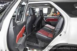 2016 Toyota Fortuner TRD Sportivo Rear Seat At BIMS
