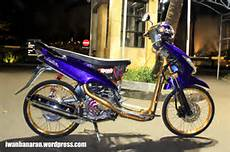 Modif Mio Sporty Standar by Modifikasi Mio Sporty Standar Warna Biru Modifikasi