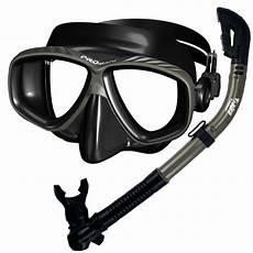 promate scuba dive snorkeling purge mask dry snorkel gear black silicone ebay