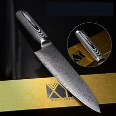 high quality stainless steel damascus knives 8 inch chef