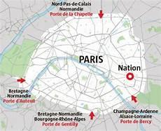 Paris Intra Muros Le T 233 L 233 Gramme 201 Conomie Les Axes Routiers De Et