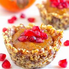 no bake persimmon pomegranate dessert cups recipe
