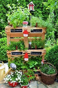 kräutergarten küche selber machen kr 228 uterpalette selbst gemacht
