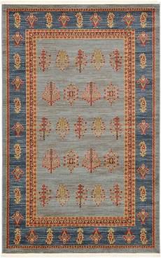 gabbeh persiani light blue 5 1 x 8 0 kashkuli gabbeh rug area rugs