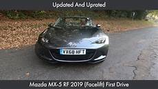 updated and uprated mazda mx 5 rf 2019 facelift