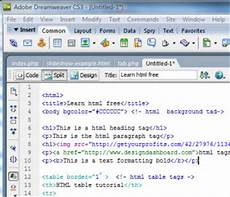 basic html code create your first sales letter web page