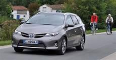 Essai Toyota Auris Touring Sports Hybrid L Hybride Pratique