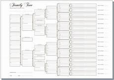a3 six generation family tree chart pedigree pack of 3