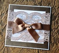 diy lace and silk designer wedding invitation weddingbee