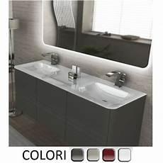 mobile bagno senza lavabo mobile bagno live 140 doppio lavabo arredo sospeso in pi 249