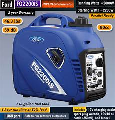 ford adresse review ford fg2200is inverter generator chainsaw journal