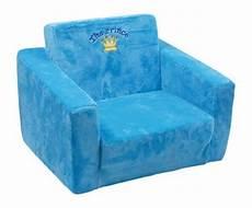 kindersessel prinz mit schlaffunktion blau kindercouch
