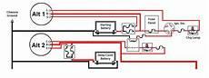 dual alternator dual charging circuits diagram ford festiva dot com