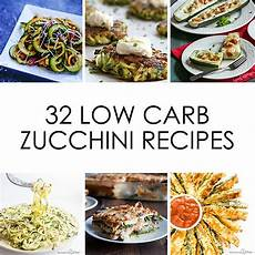 Low Carb Zucchini - 32 low carb gluten free zucchini recipes roundup