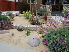 Decomposed Granite In Landscape Backyard Garden