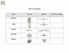 electrical circuit components using widgit symbols by shiningmimi teaching resources tes