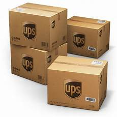 up usa ups shipping box icon container 4 cargo vans iconset