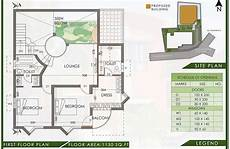 habitat kerala house plans eco friendly 3 bedroom low cost 2200sqft home with