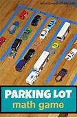 Fun Math Activity Parking Lot Addition  Toys Dr Who