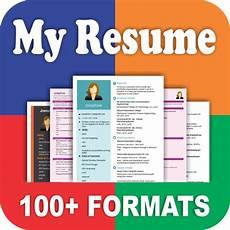 download resume builder app free cv maker with pdf format