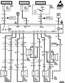 87 blazer radio wiring diagram what is the wiring color for the ground 12v left front rear right front rear speaker and