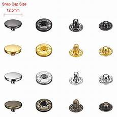 14 different types of buttons for clothing and accessories