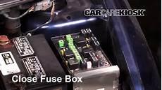 2001 Dodge Caravan Interior Fuse Box Location