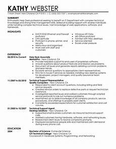 unforgettable help desk resume exles to stand out myperfectresume