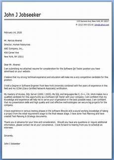 software tester application letter sle job application software qa tester cover letter sle resume cover letter cover letter for resume job cover