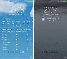 dynamic weather wallpaper iphone weatherboard 2 adds weather forecast to your lockscreen