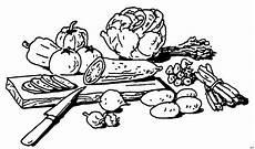Malvorlagen Kinder Essen Geschnittenes Gemuese Ausmalbild Malvorlage Essen Und