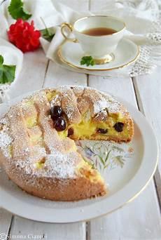 torta pasticciotto fredda ricette ricette dolci e dolci torta pasticciotto crema e amarene ricette ricette dolci dolcetti