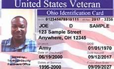 veteran id card template trumbull county recorder