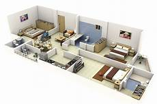 3 bedroomed house plan 3 bedroom apartment house plans