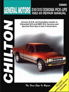 free service manuals online 2004 chevrolet s10 electronic throttle control chevrolet s10 gmc s15 sonoma syclone repair manual 1982 1993